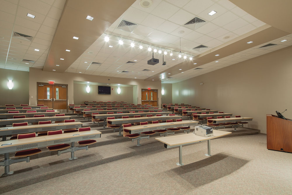 Benton High School, Lecture Halls, USA