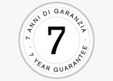 7 years guarantee